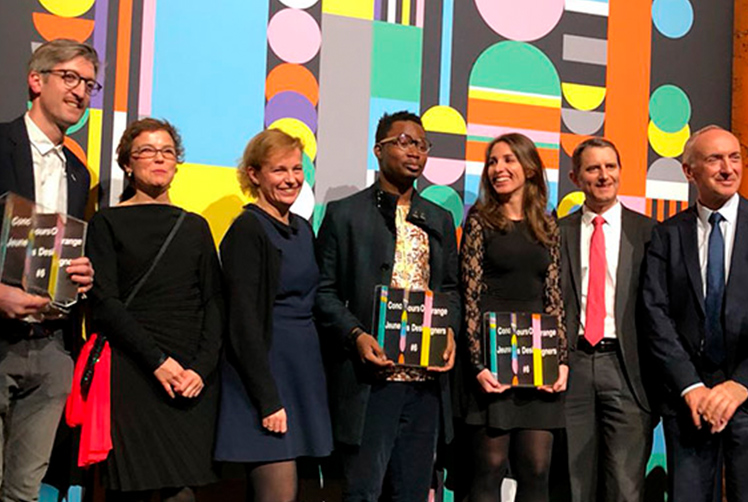 Andrea Zalles, Segundo lugar premio Orange Young Designers Competition 2018